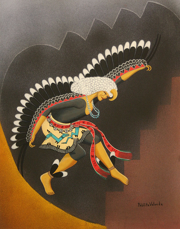 Spectacular American Indian Paintings for Sale !