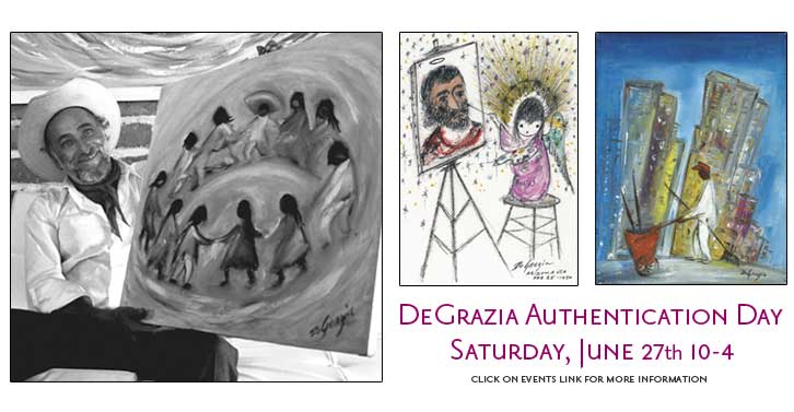 De Grazia Expert + Appraiser Opportunity June 27!!!