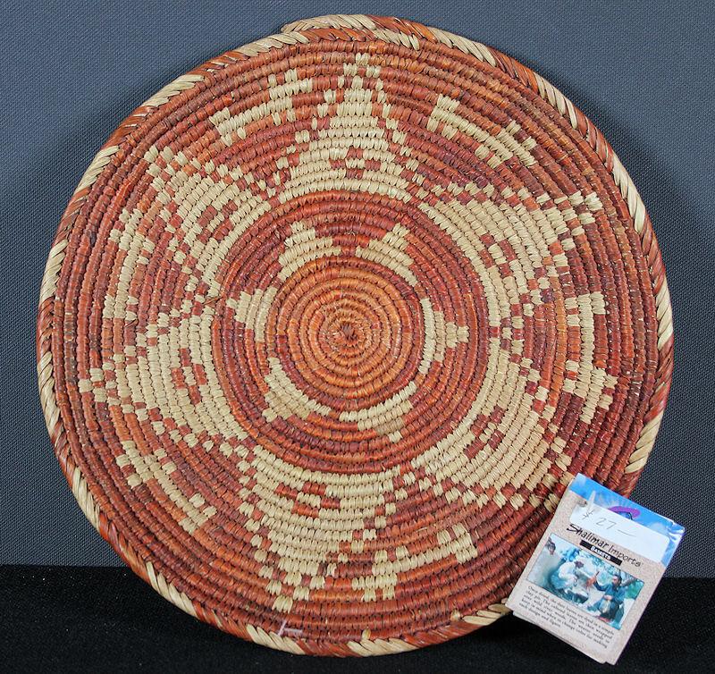 Basket from Pakistan Often Sold in Southwest USA