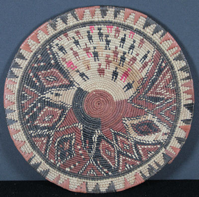 African Basketry Tray