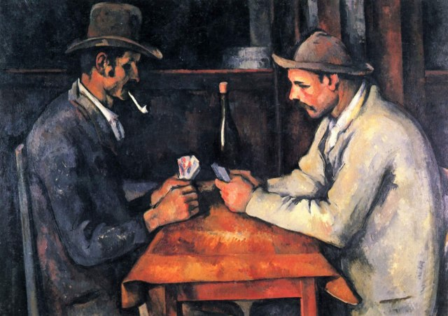 Hefty $250 million Card Players by Cezanne