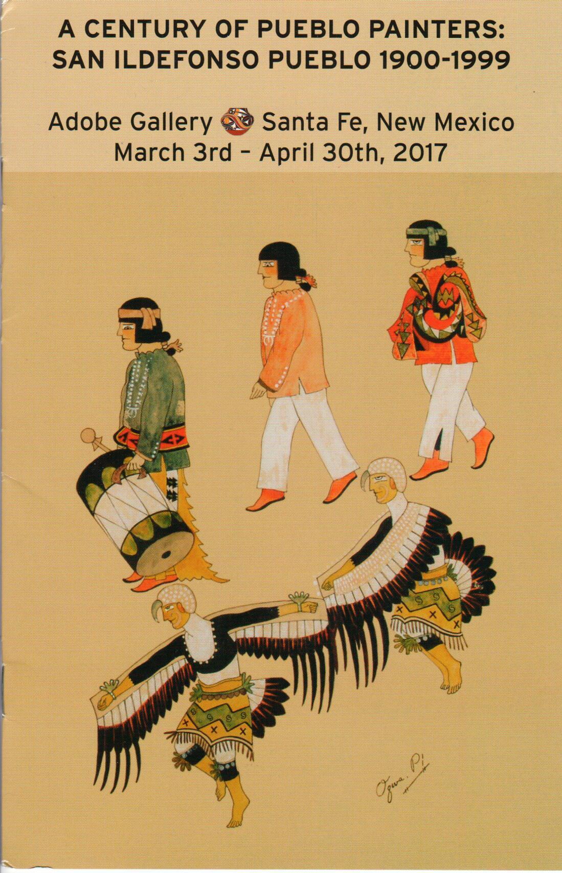 Adobe Gallery's Show A Century of Pueblo Painters: San Ildefonso Pueblo 1900-1999