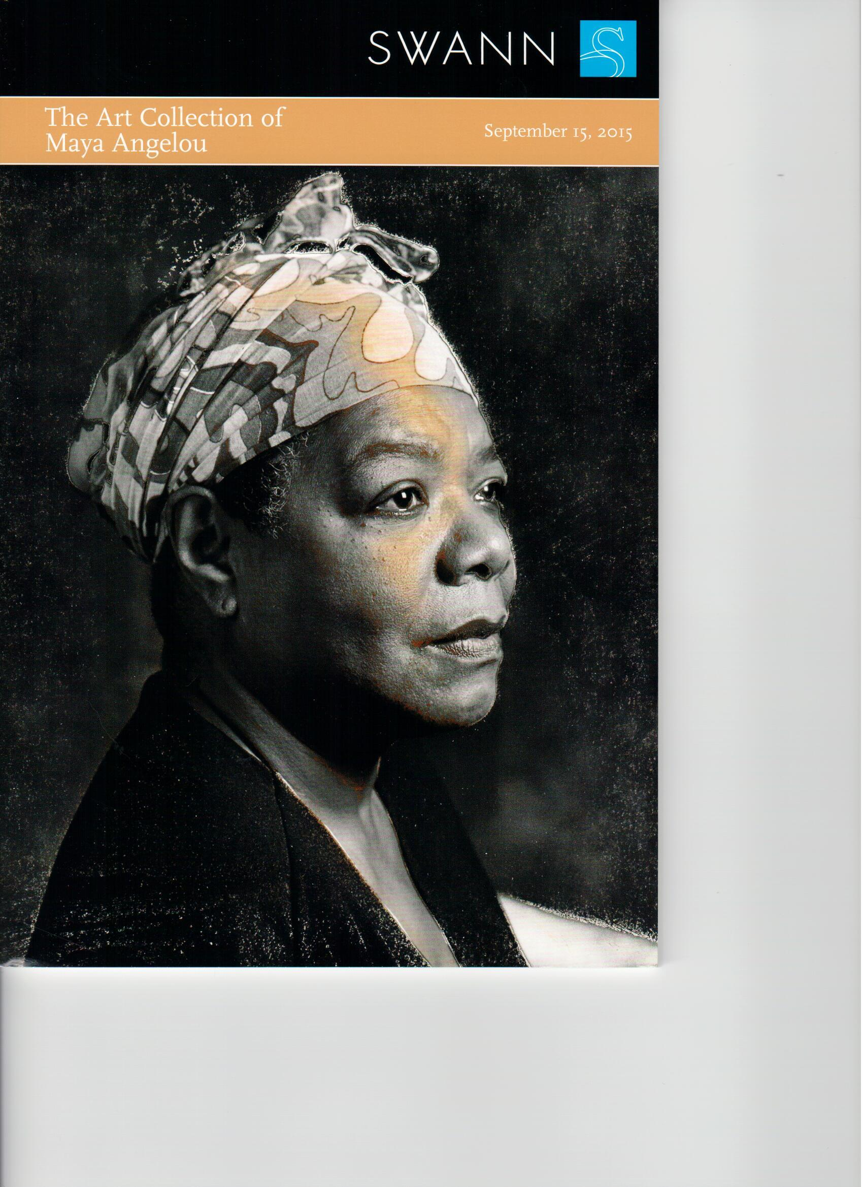 Maya Angelou's Art Collection Swann Auction Sept 15