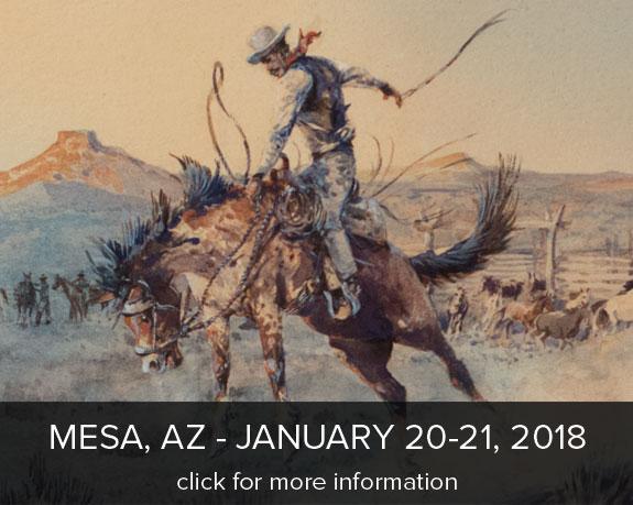 Lebel's Old West Show Mesa, AZ Jan 20-21, 2018